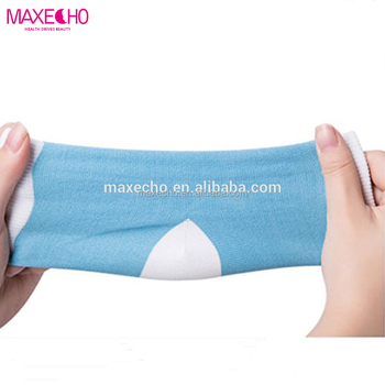 17c9be9d6 MAXECHO Moisturizing Silicone Gel Heel Socks for Dry Hard Cracked Skin Open  Toe Comfy Recovery Socks