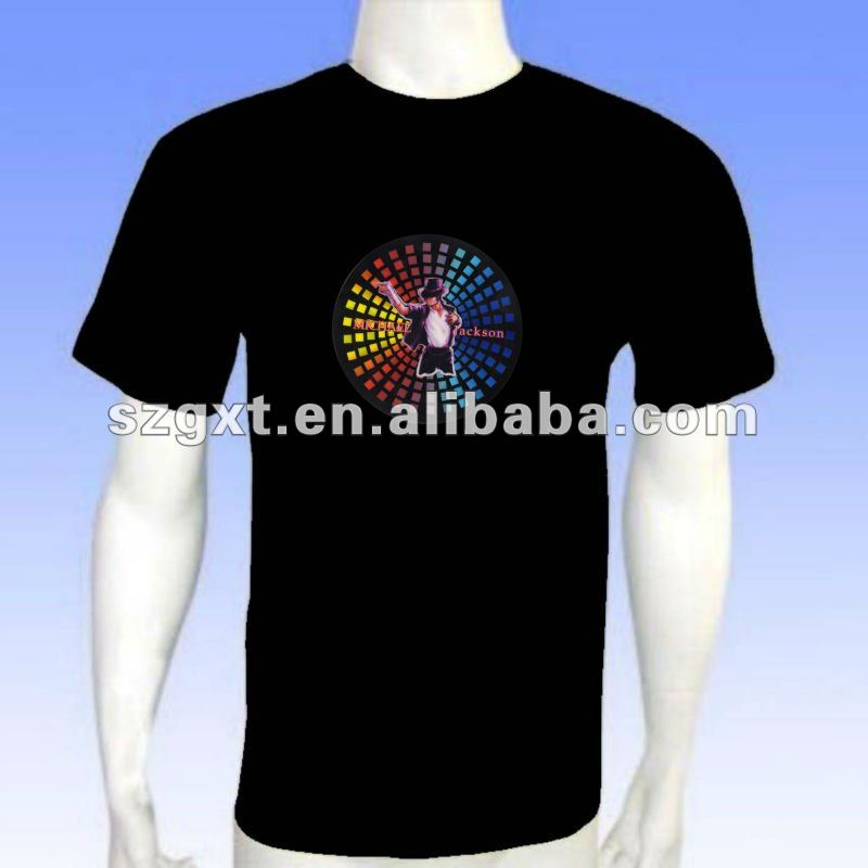 EL emanative T-shirts