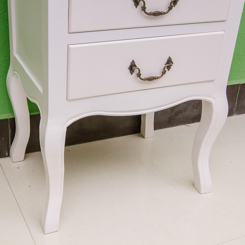 Wholesale factory cheap white night stand wooden night for Cheap white night tables