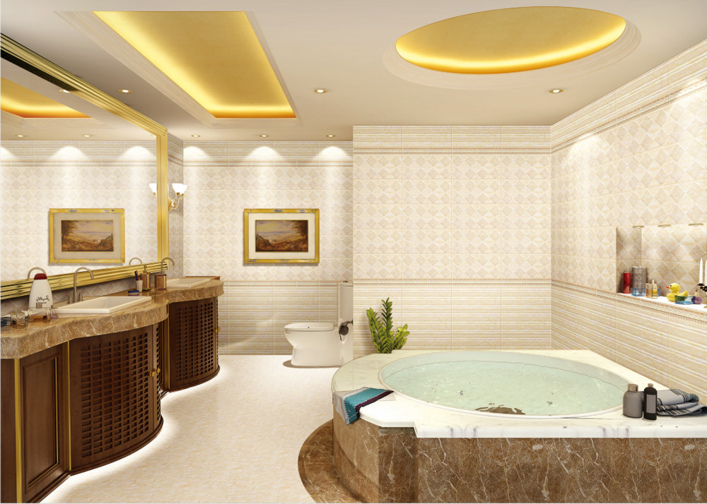 China New Design Cement Base Wall Tile Non Slip Kerala Floor Tiles