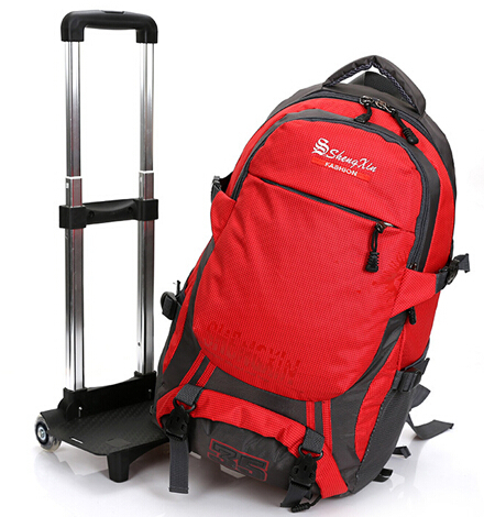 Trolley School Travel Rolling Backpack Good Hiking Trolley ...