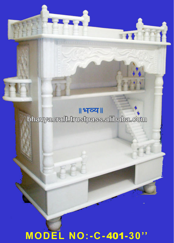 Marble Wooden Temple,Altar,Mandir - Buy Marble Home Indian Temple ...
