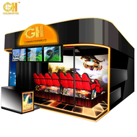 2017 New Gold Hunter Amusement Home Theater Electrical/Hydraulic New Immersive Sense Movies 6D 7D 8D Cinema