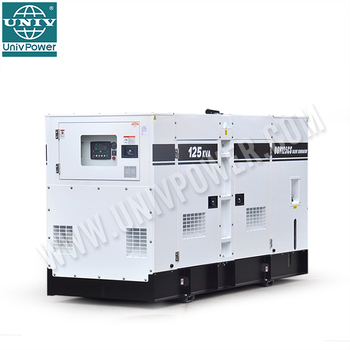 High quality 50kw water-cooled soundproof genset with ATS