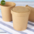 Get!!! Disposable Kraft Soup Round Paper Container Bucket