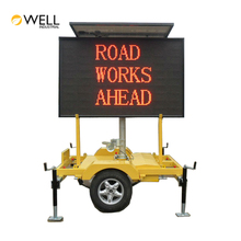 Wholesale China Trade Solar Powered Mobile LED Displays Colour Variable Message Signs Trailer Mounted VMS boards