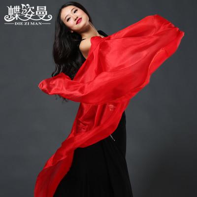 SJ003 Performance Professional bellydance Silk veil for girl