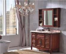 New Design Antique Solid Wood Bathroom Vanities with Tops 0281-B6004