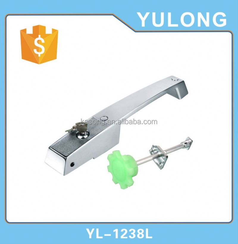 Sliding glass door lock bars latch clamp
