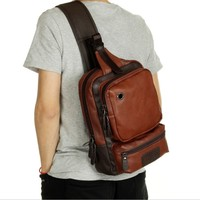 zm21953a New fashion cross body bags for men pu casual fancy bags