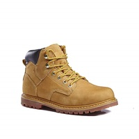Most popular indoor plush mens work boots with low price