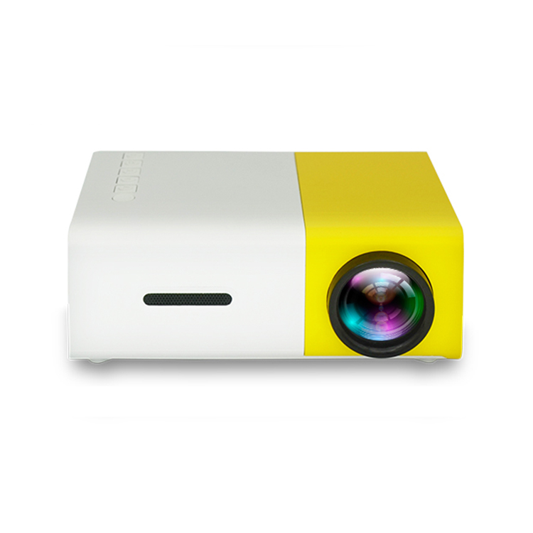2017 trending products portable home theater mini projector hd 1080p YG300