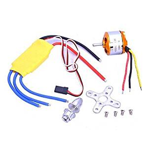 Xiangtat A2212 1000kv Outrunner Brushless Motor + 30a ESC Electric Speed Controller Set for Rc Aircraft Plane Multi-copter Quadcopter by Xiangtat