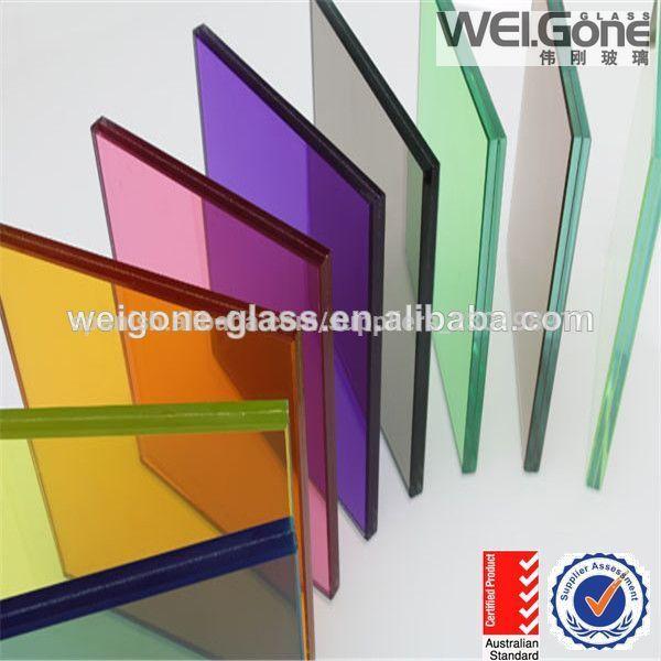 Precio de laminado de vidrio de color de la pared cristal - Precio del vidrio ...