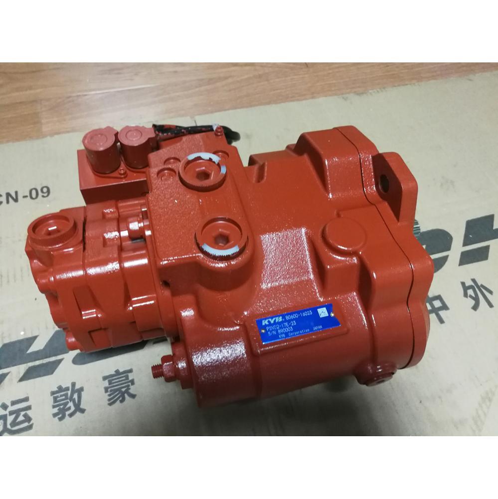 KYB hysraulic main pump PSVD2-21E, PSVD2-27E, Psvd2-17e Hydraulic Pump with Solenoid Valve