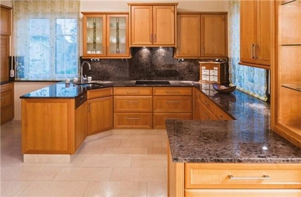 VANITY; Granite Labrador Antique Brown Granite Solid Color Granite  Countertop