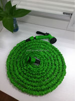 Promotion 50ft green fabric garden hose with shower sprayer for EU ans US area