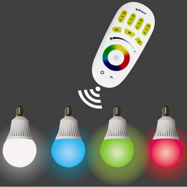 5w Multi-color E27 Led Light Bulb With Remote,E14 Like Philips Hue ...