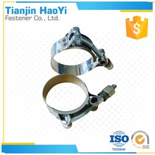 stainless steel Marine T bolt pipe clip for brake pipe clips