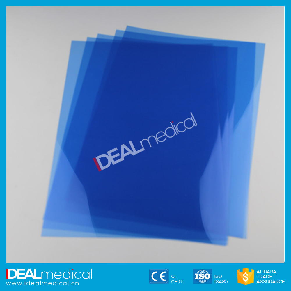 Free Sample 14''x17'' Inkjet Printing Blue Based Medical Dry X-ray Film