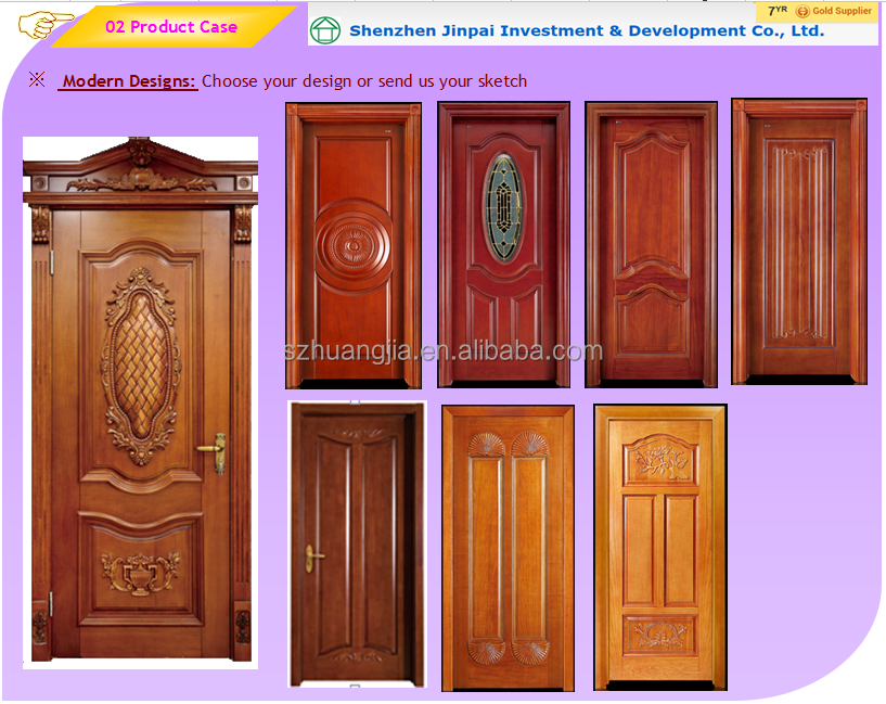 Ply doors design zhejiang afol solid wooden door flush for Plywood door design