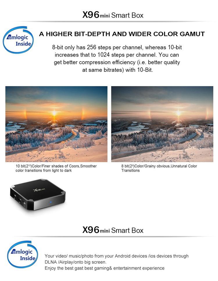 Firmware update tv box x96 mini 2gb 16gb smart amlogic s905w quad core download user manual for android x96 tv box