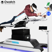 Hot selling Popular Interactive 1 seat stand up flight vr simulator