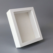 Groothandel Zwart Wit 8x8 8x10 <span class=keywords><strong>12x12</strong></span> 3D Shadow Box Frame