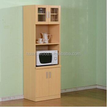 Gentil HX MZ764 Wooden Tall Microwave Oven Cabinet Sideboards