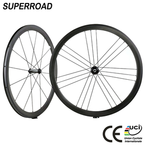 38mm Cheap Toray Fiber Off Road Cycling 700C Clincher Chinese Carbon Bike Wheel set Bicycle Wheelset