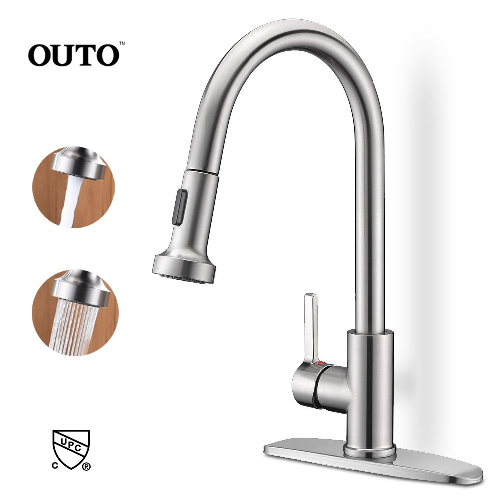Oil Rubbed Bronze 1 Hole Or 3 Hole Installation Derengge Kf 5988 Nb Single Handle Spring Spout Kitchen Faucet With Pull Down Sprayer Meets Cupc Nsf61 9 And Ab1953 Lead Free Standard Coslab Uk