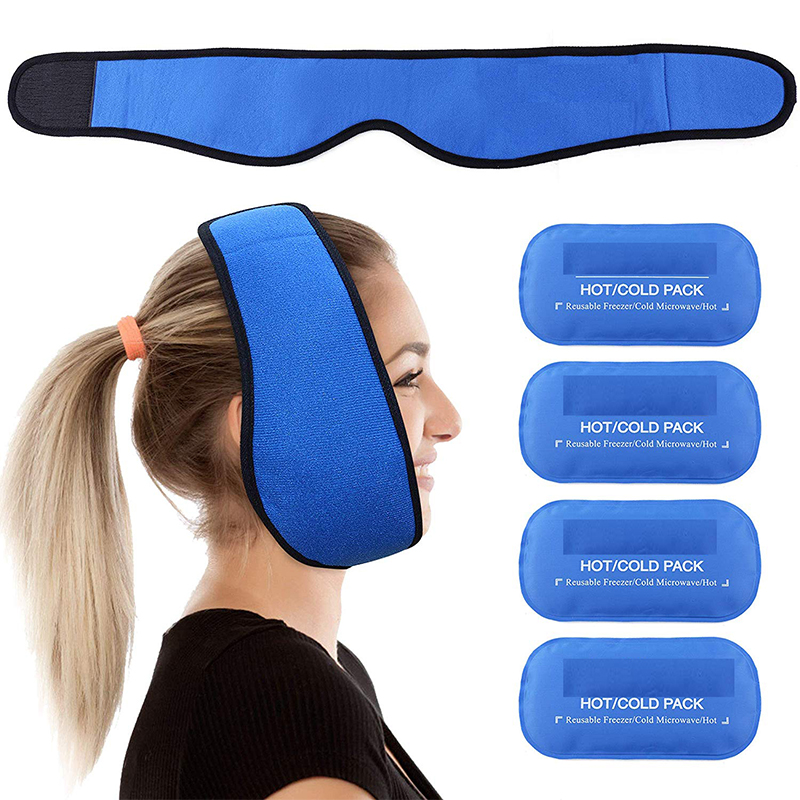 Face Ice Pack Wrap for Jaw, Head and Chin Pain FDA