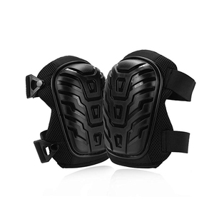 Adjustable Professional Knee Pads with Heavy Duty Foam Padding and Comfortable Gel Cushion