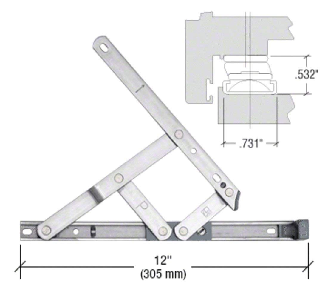 """C.R. LAURENCE DSH12 CRL 12"""" Secure Style Casement Hinge by C.R. LAURENCE"""