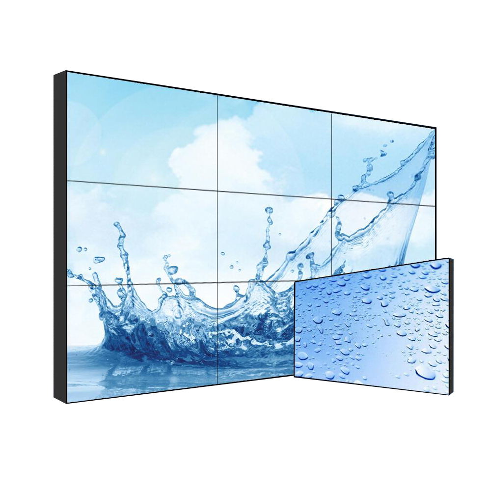 "46 ""47"" 55 ""bildschirm display 3x3 LCD DID videowand hd nahtlose video wand"