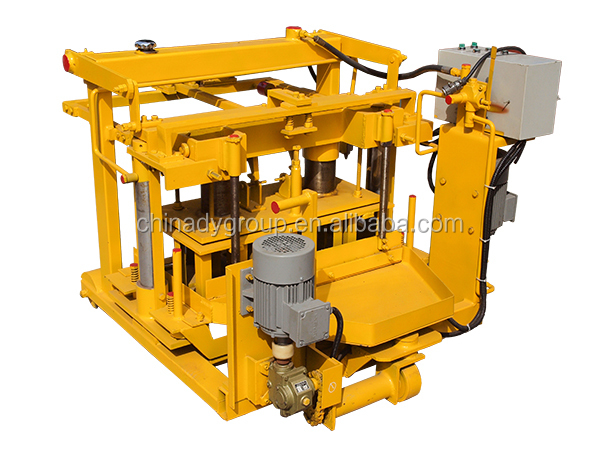 mobile block making machine maintenance experience Concrete brick machine adopts the plc operating system,which can guarantees the machine safely and qtj4-45 mobile hollow jym1280 block making machine.