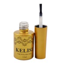 1pc 12ml Professional Top Coat For Metal Color Nail Uv Gel UV Soak Off Gel Polish