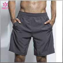 Custom latest style polyester spandex men running shorts