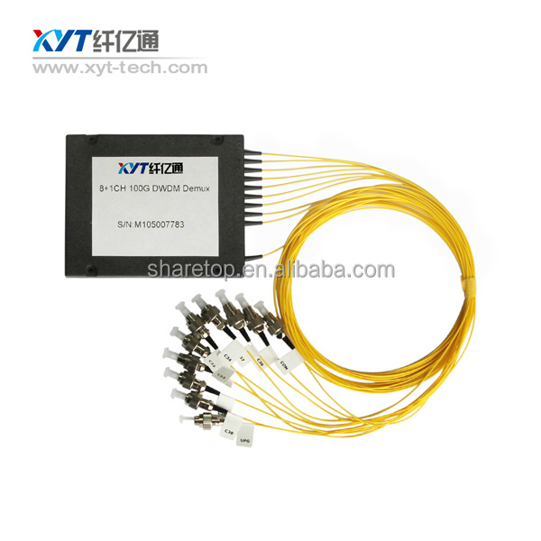 Optical Fiber DWDM 100G 40CH Mux Multiplexer with SC/FC Connector