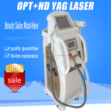 Painfree Hair Removal Skin Rejuvenation Acne Therapy Laser Tattoo Removal Multifunctional Beauty Machine