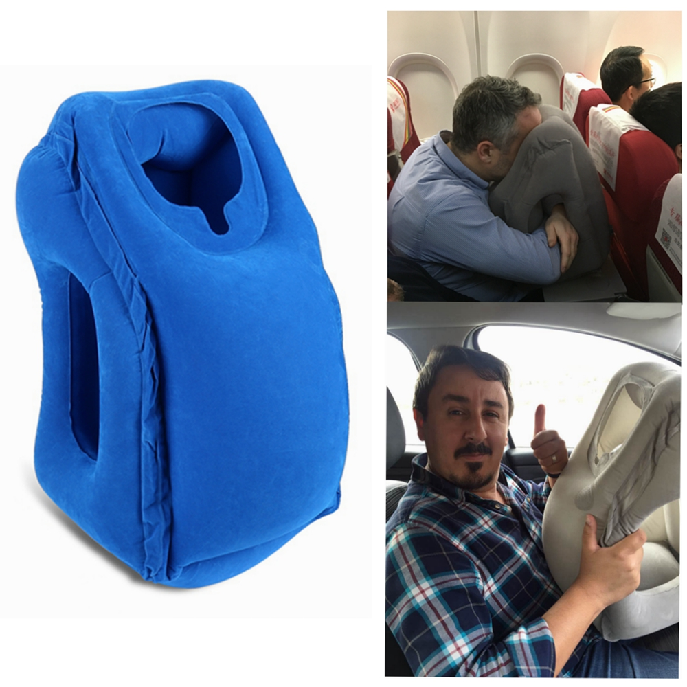 Airgoods Portable Lumbar Support Office Chair Back Cushion