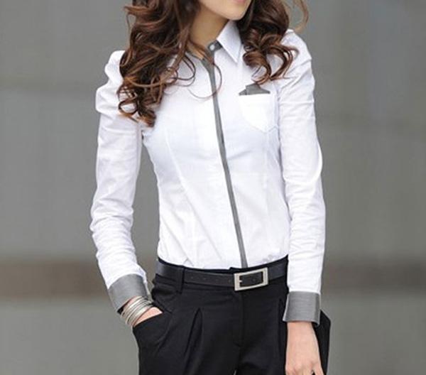 e2a1e8b103 Vestidos Blancos Para Las Mujeres Vestido De Seda Camisa Manga Puff ...