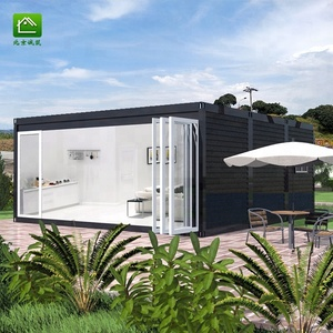 Container house supplier/shipping container home 2 bedroom design/landscape container house