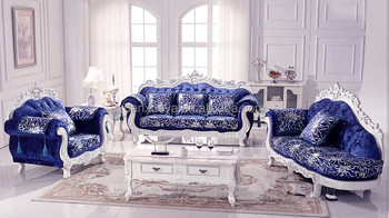 Luxury Living Room Furniture,Royal Elegant,Blue Velvet Sofa Set For Sale -  Buy Italian Style Sofa Set Living Room Furniture,Living Room Furniture Sets  ...