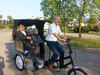 electric tricycle with passenger seat for sale
