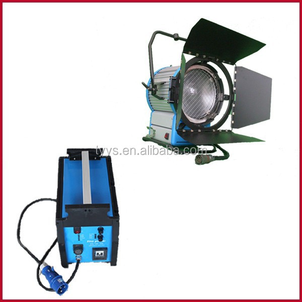 Flicker free 4000w HMI studio lighting, film shooting lighting equipment