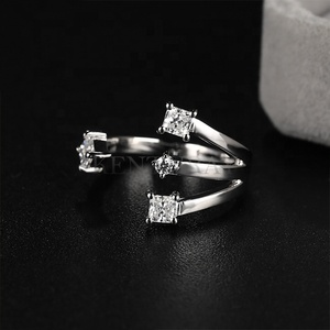 SR00627 Kenturay Personalized Purity Ring 925 Sterling Silver fashion Ring