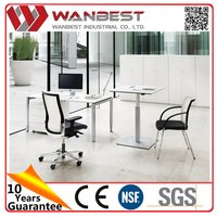 Bottom price professional free standing commercial office desk