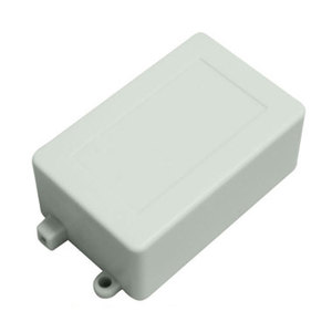 Custom Flameproof Plastic Junction Box With Hinged Wall Mounted Switch Enclosure