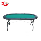 72 inch Folding 8 player Casino Texas Hold'em Poker Table